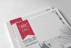 "CONTA-ME A TUA HISTÃ""RIA #logotype #branding #flyer #design #graphic #logo"