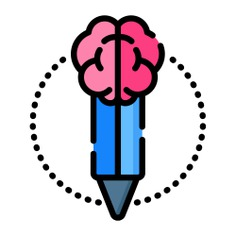 See more icon inspiration related to brain, mind, think, pencil, design thinking, art and design, miscellaneous, thinking, learning, education and people on Flaticon.