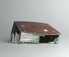 brokenhouses-3 #sculpture #house #art #broken #miniature