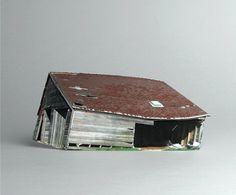 brokenhouses-3 #sculpture #house #art #broken #miniature