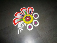 Latest Simple Rangoli Designs For Beginners
