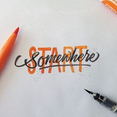 Lettering by David Milan #typography