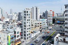 Tatsumi Apartment House by Hiroyuki Ito Architects
