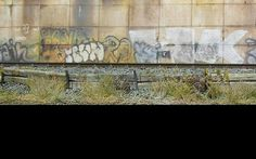 Diorama 1:87 Detail Graffiti #train #model #graffiti #diorama #photography #railway #miniature
