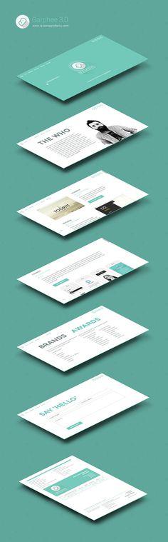 Rebranding ID #flat #uiux #responsive #design #garphee #web #green