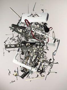 Apart_Typewriter.jpg 901×1,200 pixels #parts