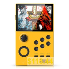 Supretro #3.5 #inch #IPS #HD #Screen #Android #Handheld #Game #Console #Bluetooth #WiFi #Download #Games #Online #- #YELLOW
