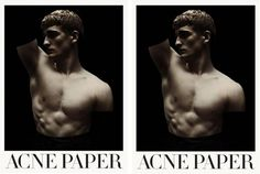 Acne Paper 13 | The Body Issue « De Jeunes Gens Modernes #cover #editorial #acne