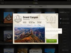 Dribbble - gallery_modal.png by Rally Interactive (via Ben Cline) #ipad #app