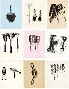 Jonathan Novak Contemporary Art - Jim Dine #print