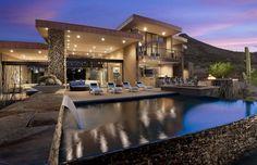 Dream Home Award Winning Modern Luxury Home in Arizona: The Sefcovic Residence