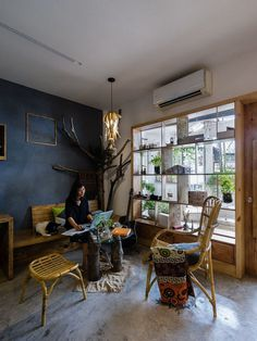 ARCH.A StudiO Convert an Old House into an Inspiring Office in Ho Chi Minh City 5