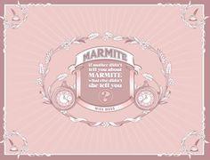 Marmite Blogger Drop on Behance #type #illustration #marmite #typography