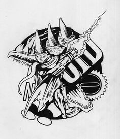 All sizes | super metroid rmx | Flickr - Photo Sharing! #marker #white #super #black #metroid #drawing