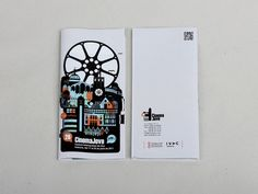 26th Festival Internacional de Cine. Cinema Jove #camera #city #design #compact #illustration #film #brochure