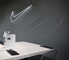 Cantine Nike / Uxus #nike #reactive #waves #space