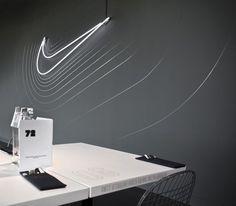 Cantine Nike / Uxus #nike #waves #reactive #space