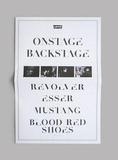 NEO NEO | Graphic Design | Levi's #poster #typography
