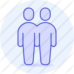 See more icon inspiration related to love and romance, humanpictos, gay, romantic, romance, couple, men, love and people on Flaticon.