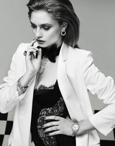 Svetlana Zakharova by Nikolay Biryukov for Elle Russia