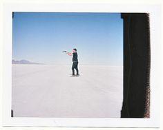 Ian Matteson — Mamiya RB67 w/ Polaroid Back Bonneville Salt...