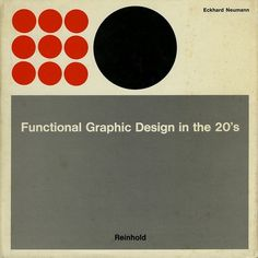 All sizes | Functional Graphic Design in the 20's | Flickr - Photo Sharing! #geometry #book #cover #1920 #circle #layout