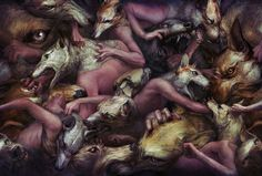 Paintings by Ryohei Hase