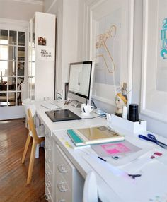 Making a creative workspace at home #office #space #home #desk #minimal #work