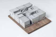 Miniature Concrete Buildings