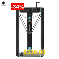 ANYCUBIC #3D #Printer #Predator #370x370x455mm #Largest #Delta #Pulley #with #Auto #Leveling #Plus #Size