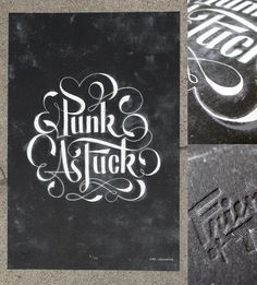 Friends of Type — #punk #white #print #black #screen #poster #and