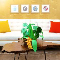 Paper Plants #heart #plants #we #art #paper