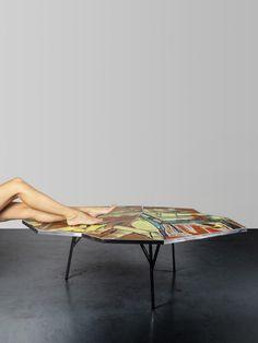 Street Capture – combination of street art and furniture design
