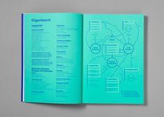 Clase bcn / Student guide. Degree in Design 2012-2013 #graph #green #graphic design