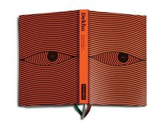 . #lines #eyes #orange #book #cover
