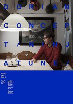 The Future Sound Poster — Dorian Concept (Ninjatune) #dorianconcept #thefuturesound #ninjatune