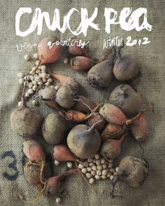 Digital Winter 2012 Issue #cover #magazine #food #beetroots #veganism
