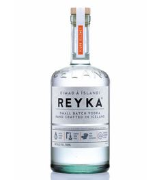 Buamai Reyka Vodka | Lovely Package #packaging #alcohol #vodka #typography