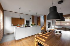 lounge and kitchen open space #interiordesign