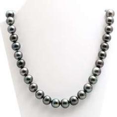 Collier, Tahiti cultured pearls
