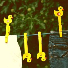 Sitting Duck Clothes Pegs #tech #flow #gadget #gift #ideas #cool