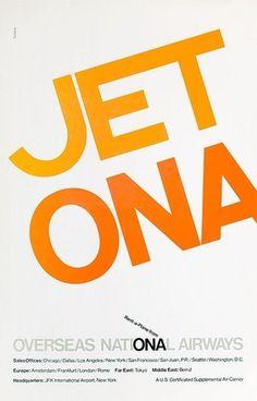 Overseas National Airways Jet ONA | Flickr - Photo Sharing! #tscherny #george