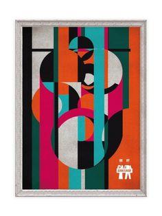 JOSE PALOMERO / PORTFOLIO #spain #design #graphic #geometric #summer #fashion #bahnhof #palomero