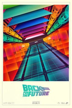 Back For The Future - Nike Mag poster