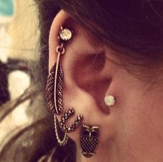 50 Beautiful Ear Piercings
