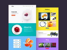 Cahee is a minimalistic and vibrant #template suited for #food related websites.