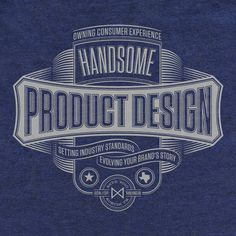 Handsome on Behance #type
