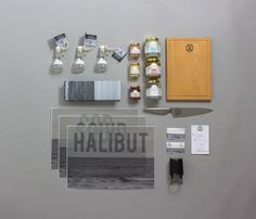 Just for the Halibut William Skane Davis #halibut #just #branding #davis #design #fish #fishmonger #the #skane #for #logo
