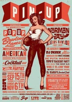 TIMBA_illustration_PinupPoster.jpg 650×919 pixels #design #typography #timba smits #pin #up