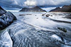 Skagenstrand, Lofoten. #ocean